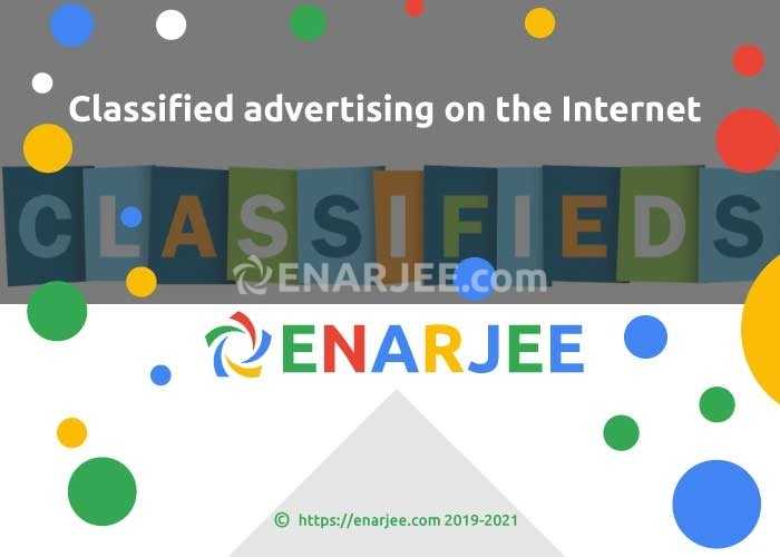 Classified advertising on the Internet